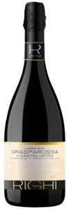 rode sprankelende zoete wijn Lambrusco Grasparossa di Castelvetro