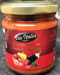 caponata siciliana  - via italia